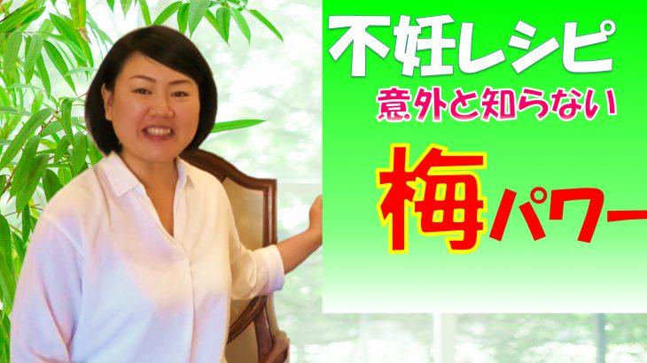 【不妊の知恵袋】不妊レシピ 意外と知れない梅のパワー!